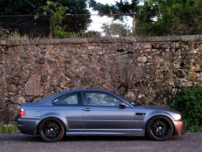 2003 E46 M3 My first M car. I had a blast with this car and regret selling it. But with two toddler kids I felt guilty getting it dirty so it was sold. This car had H&R Sport springs, Bilstein HDs, stepped headers, Supersprint exhaust, Diffsonline diff, CSL replica wheels, black trim, and more and more. I started a blog with this car - e46m3blog.com.