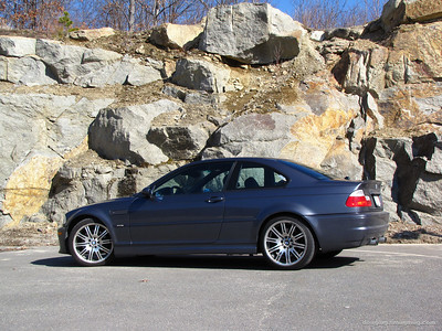 march 15 09 (peabody, mass) -- found a cool backdrop on the way home from Cars and Coffee