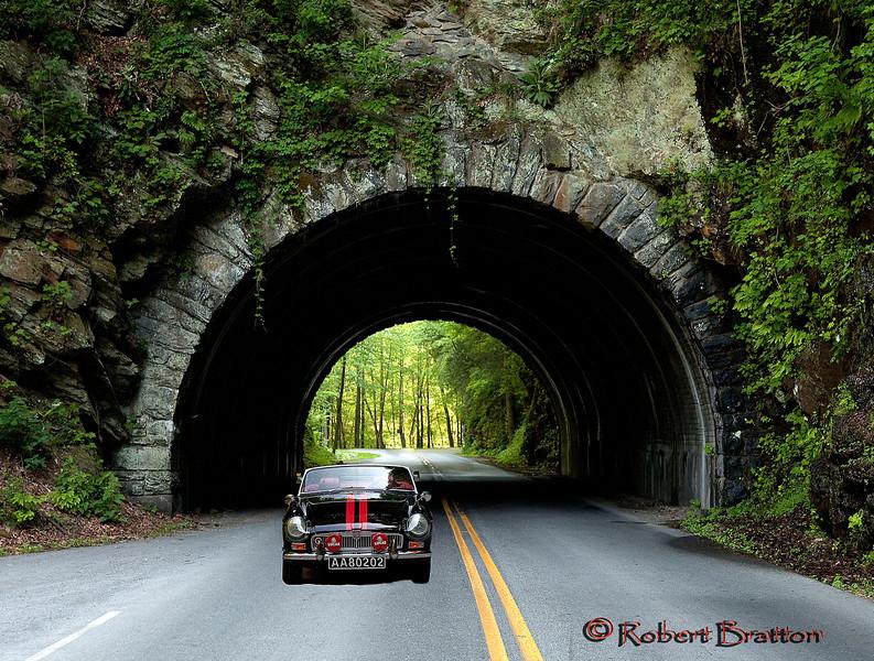 Drive to Cades Cove, TN