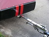 Harley Davidson Trailer Tong Complete with Swivel and Stand