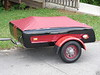 "Customized 1950's Allstate ""tag-along"" trailer<br /> A rare Collectors' Item by Itself!"