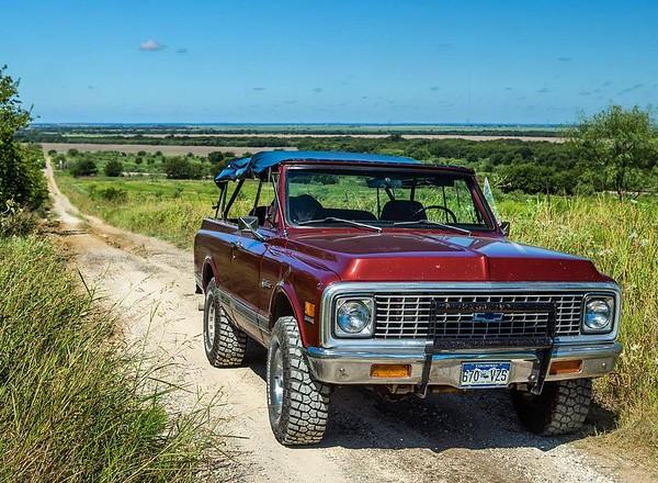 1972 Chevrolet K5 Blazer 4x4 4spd