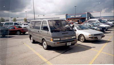 1996-7 My 1988 Nissan Van - 200SX- Mine was Red