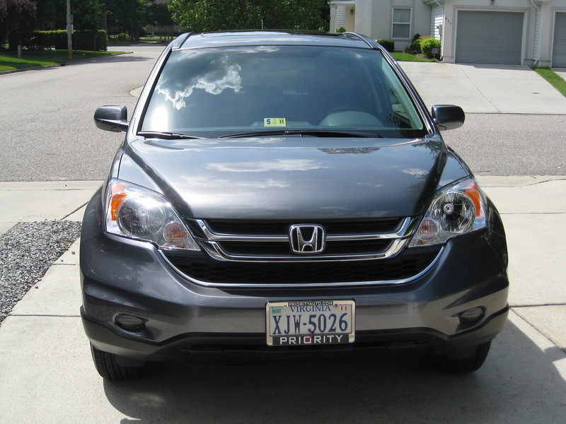 My new car:  Honda CR-V  EX-L in Polished Metal Metallic.
