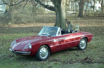 My Old Alfa Duetto