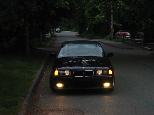 1995 E36 318iC I did a lot to this car and regret selling it (even though it was a 318) - Bilstein PSS coil overs, M3 front bumper, M3 wheels, Euro ellipsoid headlights, and more. I sold it to move into a 325is but I should have kept it done an engine swap.