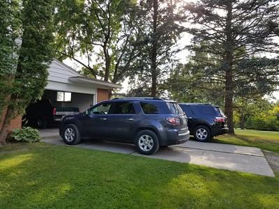 My vehicles at home 2017