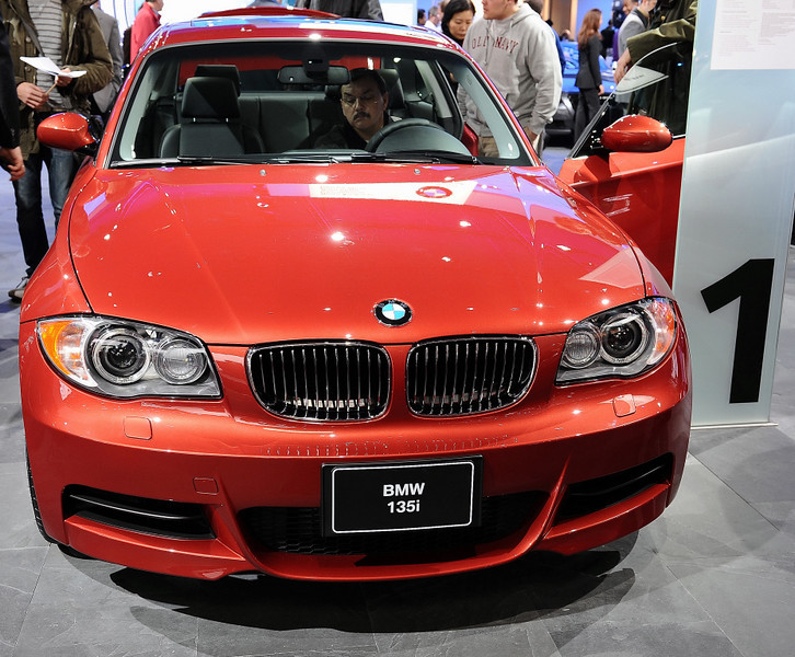 BMW's hot new 1 series.......
