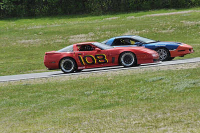 Aaron Jongbloedt (108) and Kent Owens (30)