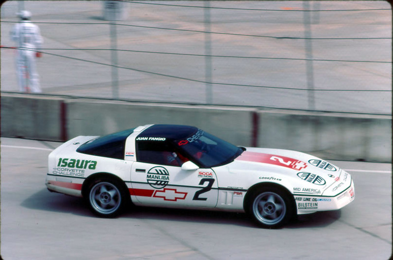 "# 2 - 1988 Corvette Challenge Juan Fangio at tbd.  VIDEO of 1988 season (1 hr) <a href=""https://www.youtube.com/watch?v=26ZICSFXhB4"">https://www.youtube.com/watch?v=26ZICSFXhB4</a>"