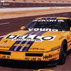 # 4 - 1990 Escort WC Ray Zisa ex Lou Gigliotti Bakeracing at Dallas with special paint job 01