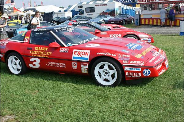 # 3 - 1989 Corvette Challenge Lance Miller ex Bill Cooper series winner at Carlisle 2009