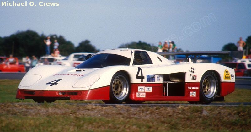 # 4 - 1984 IMSA GTP Lew Price, Carson Baird, Billy Hagen, Terry Labonte at Daytona 24 hrs 1985