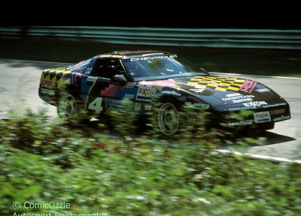 # 4 - 1989 Corvette Challenge Dave Glass recent owner ex Mark Behm at tbd 02