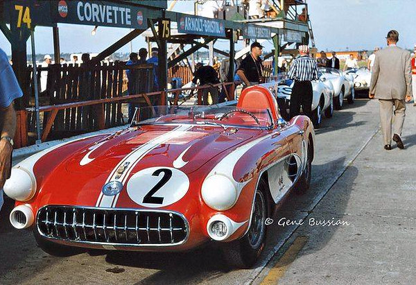 # 2 - 1957 FIA SR2 Bill Tower at Sebring