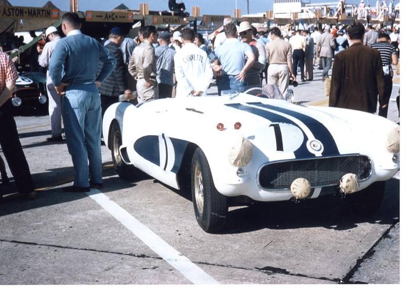 # 1 - 1956 FIA John Fitch & Walt Hansgen at Sebring