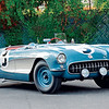 # 3 - 1956 SCCA CP Corvette Repair, Bob Gatz & Dan Davis Sebring, Display