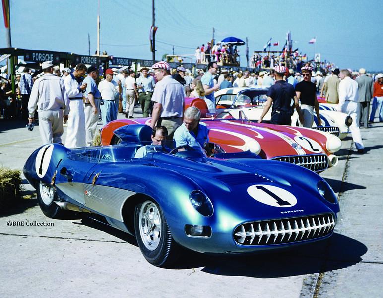 # 1 - 1957 FIA Prototype Corvette SS ex Fitch & Taruffi at Sebring