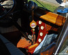 An interesting shift lever in the car from the previous picture.  See the next picture for the high tech gear selection indicator.