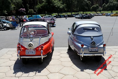 """BMW"" ""Isetta 300"" ""NHRA Museum Twilight Cruise August 2015"""