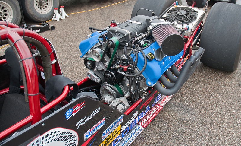 Aeromotive's Cobra Jet dragster.
