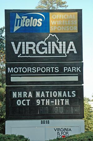 NHRA at VMP Oct. 2009