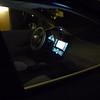 Self illuminated view of LEAF dash board ...
