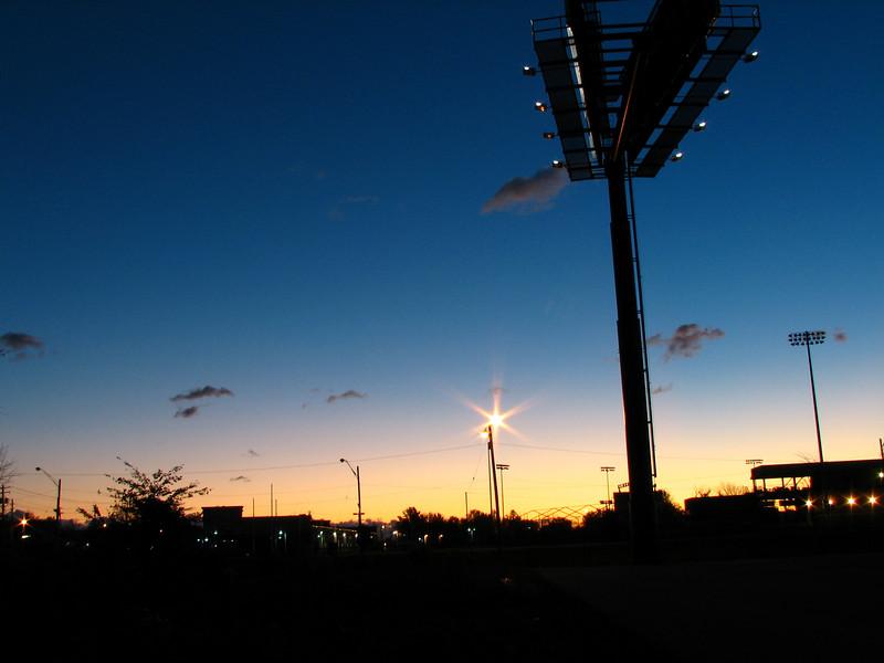 Sunrise over Eastlake