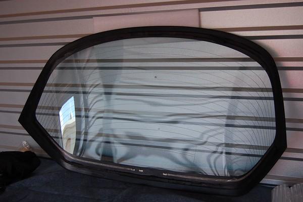 NSX Glass Hatch