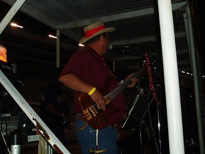 The bass pickin Dude!