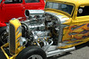 1932 Ford 5 Window Coupe<br /> Equiped w/ blower & 2 ea. four barrel carburetor's<br /> Chris & Rose Ellis<br /> South Hill, VA.