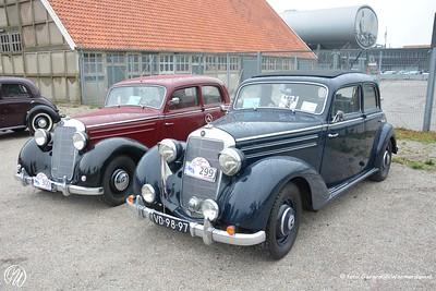 Mercedes Benz 170 SD, 1953 en Mercedes Benz 170 S (rechts), 1952