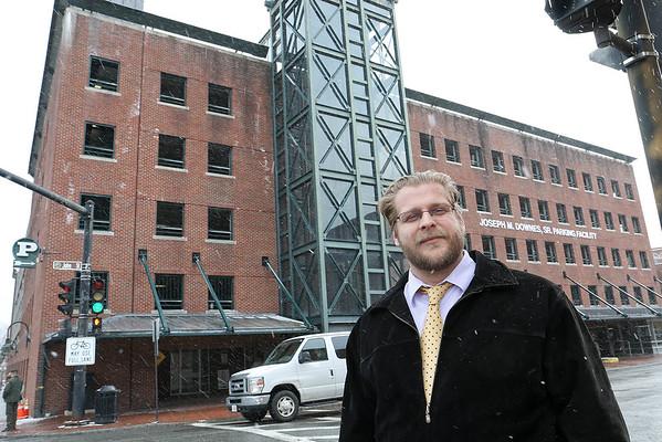 Nicholas Navin, Lowell's parking director