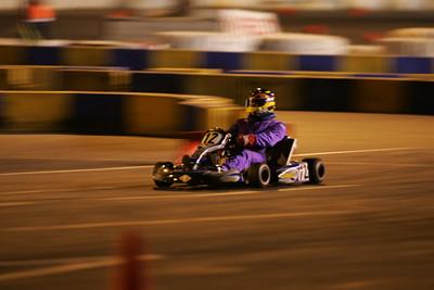 Night karting