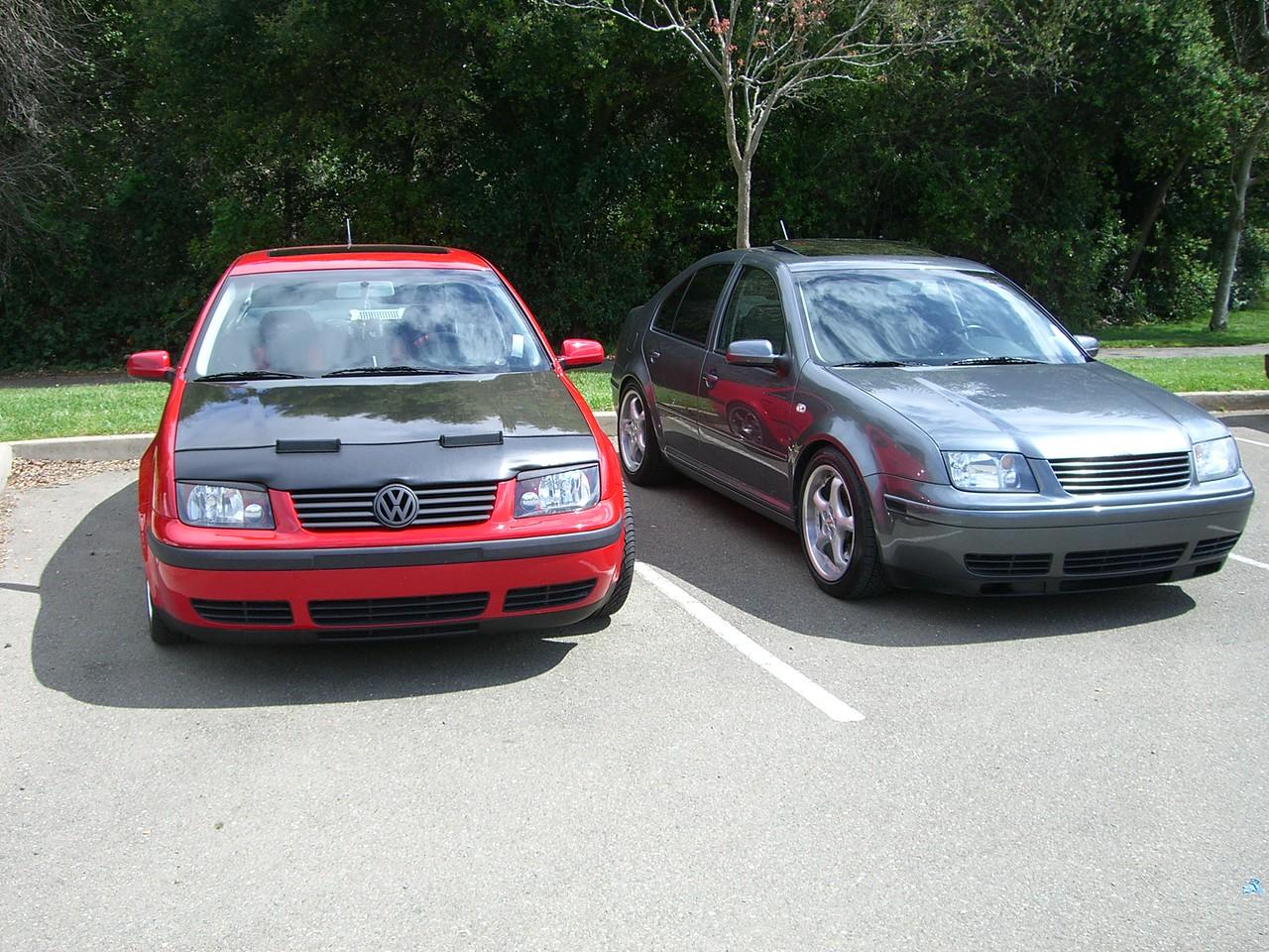 2006 04 15 Sat - Norcal VW meet - 2 Jetta's
