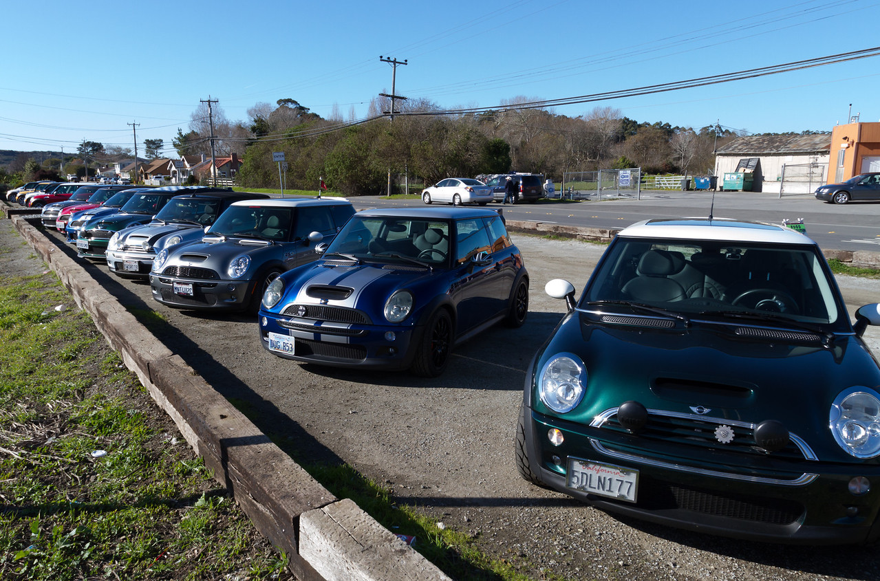 Lots of MINIs.