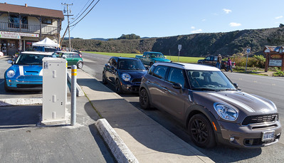 Arriving in Pescadero.