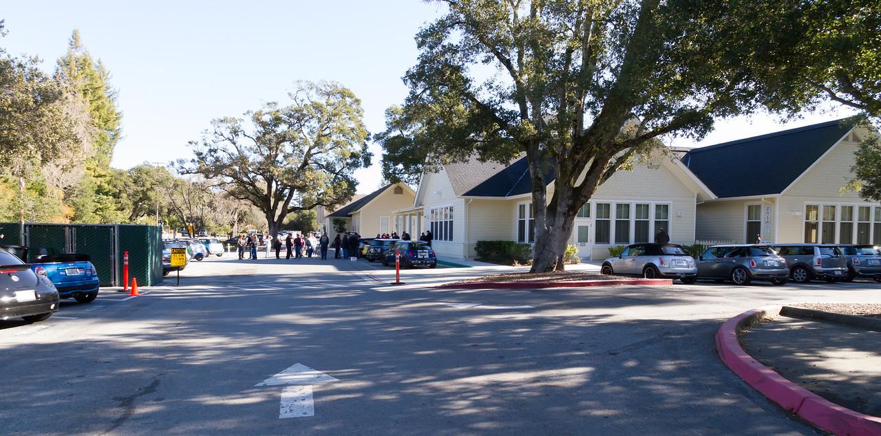 Meeting in Woodside, CA.