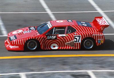 28.6.1981 Norisring: Nelson Piquet im BMW M1 Gr.5 # - BMW M88 L6 4v 3498 cc Gr.5 BASF Cassetten/Team GS-Sport (CH)