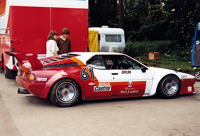 22.6.1980 Norisring:  Nr.061  BMW M1 #WBS59910004301022 - BMW M88 L6 4v 3498 cc N/A Team Schnitzer (D)Driven by: Walter Brun (CH)