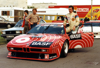 June 22, 1980 Norisring: Hans-Georg Bürger finished 8th with his BMW M1 in the Procar Race. Tragically the German talent died just 4 weeks later during a Formula 2 race at Zaandvoort, NL.