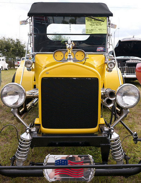 1925 Ford hotrod lights and grill