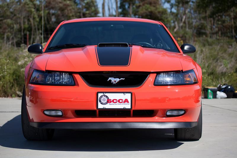 SCCA Mustang