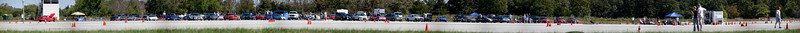 Panoramic Shot of Race