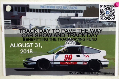 Track Day to Pave The Way August 31, 2018