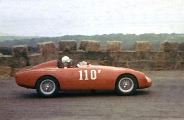 "This F Modified Osca MT4 1500 – Osca L4 1491cc, was entered in the Torrey Pines Road Races (California Sports Car Club), January 15, 1956, by Harry Chapman. The car was driven by William Bell (USA). <br /> <br /> Photo by: Bob Engberg of Tam's Old Race Car Site. Photo and information from  <a href=""http://www.racingsportscars.com/photo/Torrey_Pines-1956-01-15b-photo.html"">http://www.racingsportscars.com/photo/Torrey_Pines-1956-01-15b-photo.html</a>  ."