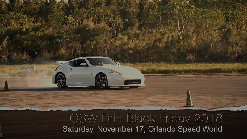 OSW Drift Black Friday 2018 IG Video