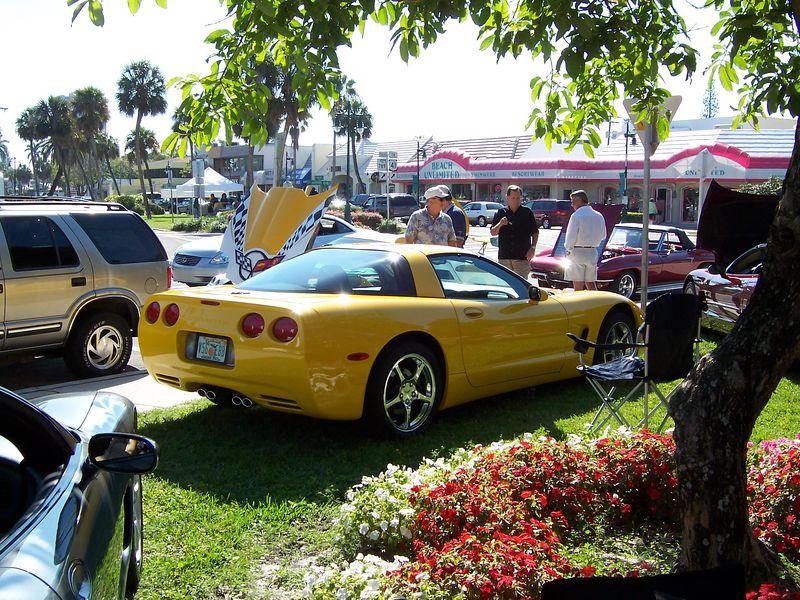 St. Armands Corvettes on the Circle, May 7, 2005, Sarasota, Florida