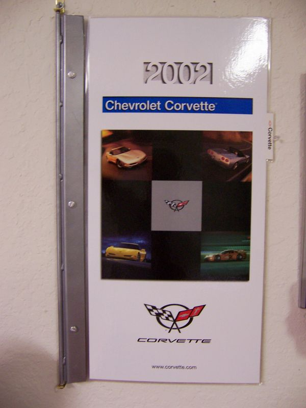 2002 Chevrolet Dealer Showroom Product Pages for the Corvette