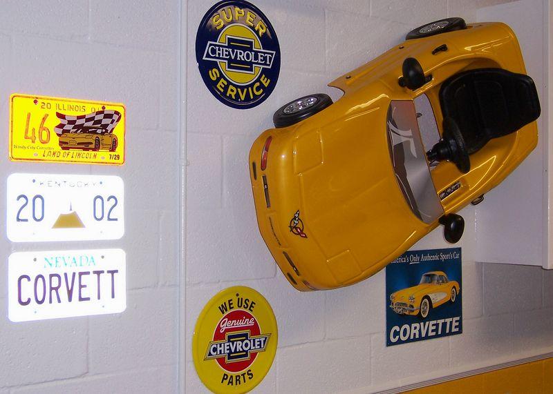 Corvette Pedal Car